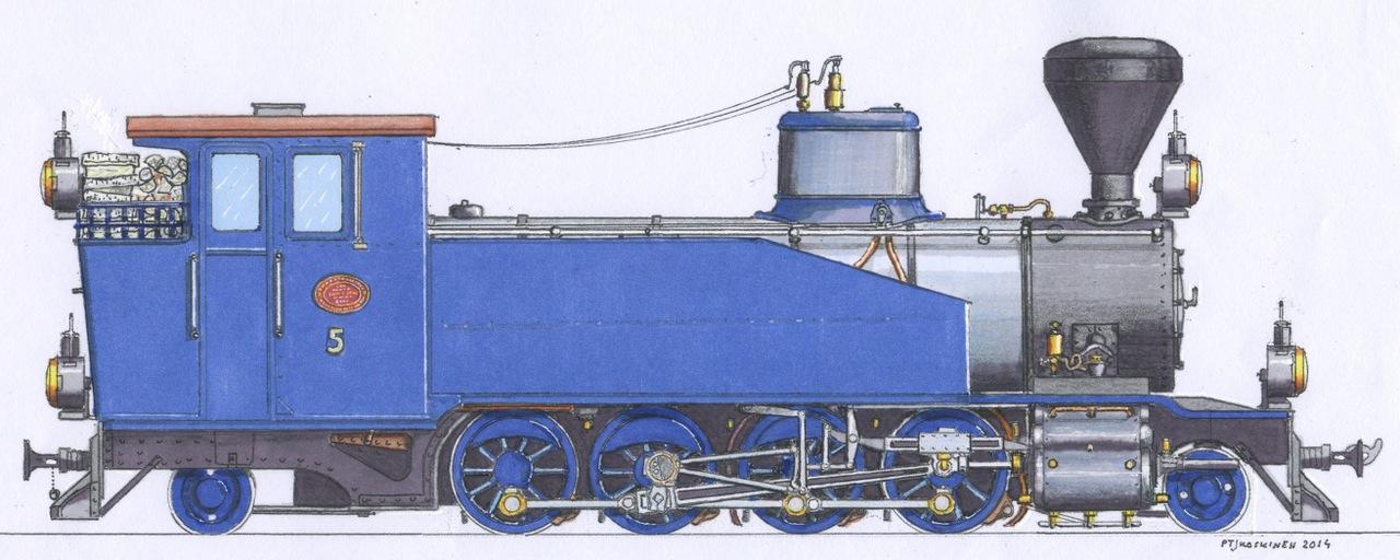 1280x512 Steam Locomotive Number 5 Sohvi