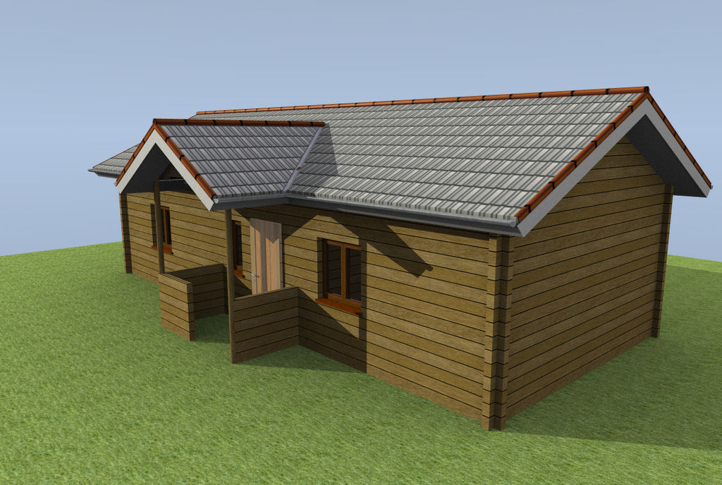 Log House Drawing at GetDrawings.com   Free for personal use Log ...