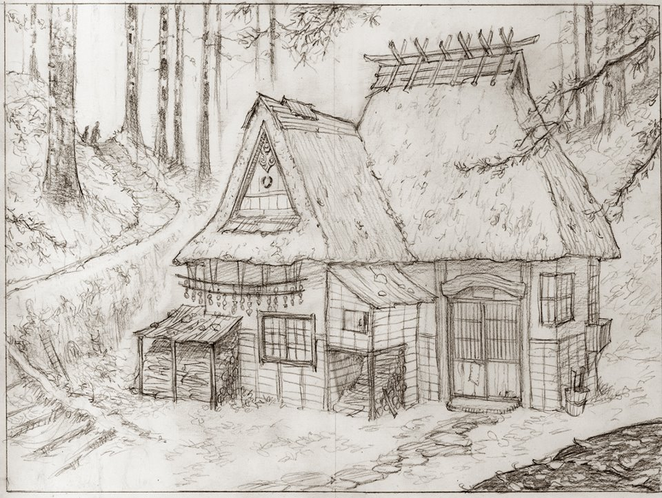 960x722 Woods House By Mark Crilley Art ! Someday I Will Draw Like This
