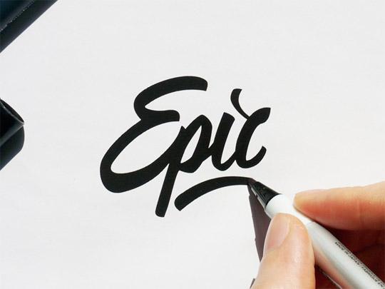 540x405 Creative, Hand Drawn Logo Designs