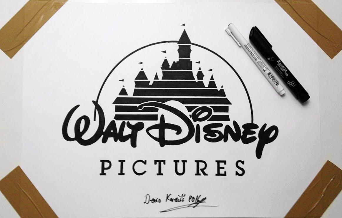 1162x742 Disney Logo Drawing