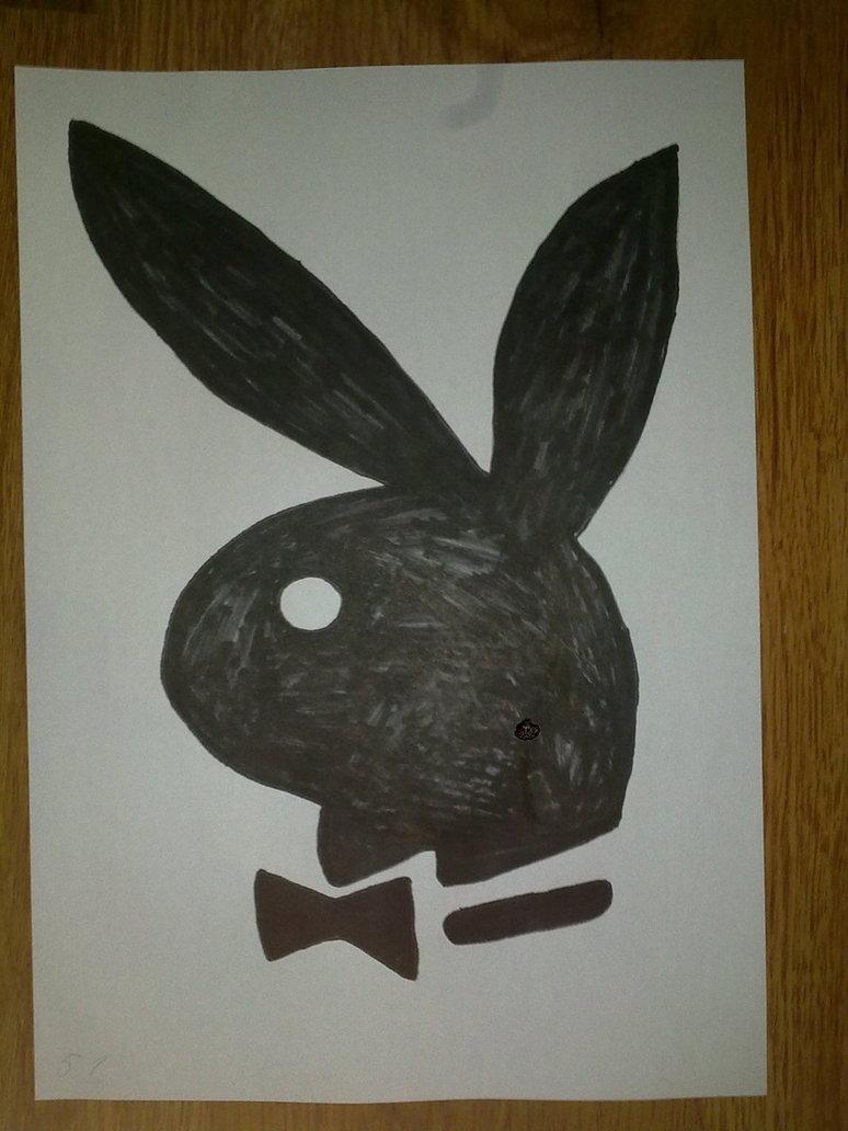 774x1032 Playboy Logo Drawing By Superkillzone94