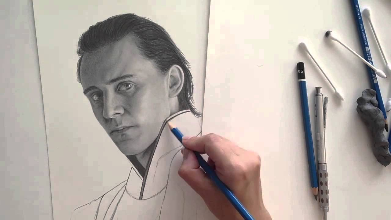 1280x720 Loki (Speed Drawing)