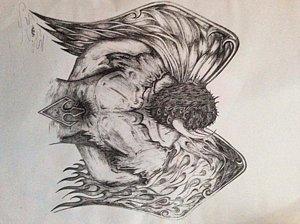 300x224 Loki Drawings Fine Art America