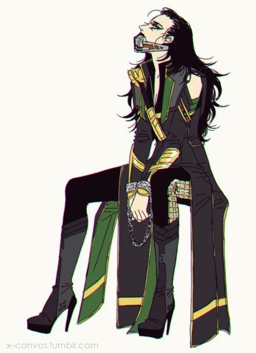 500x689 Genderbent Loki Drawing Crossover Amp Genderbend