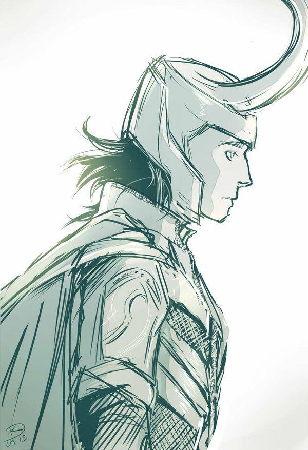 600x877 Loki Sketch
