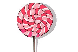 300x200 How To Draw A Lollipop