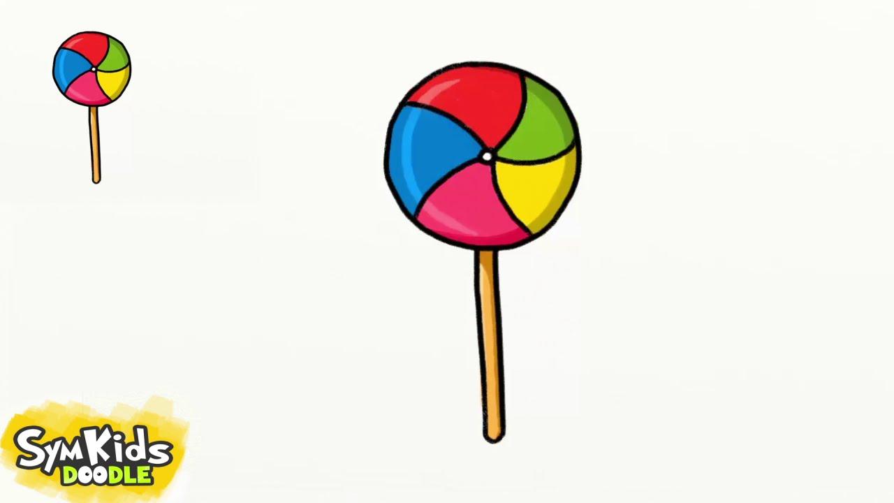 1280x720 How To Draw A Lollipop