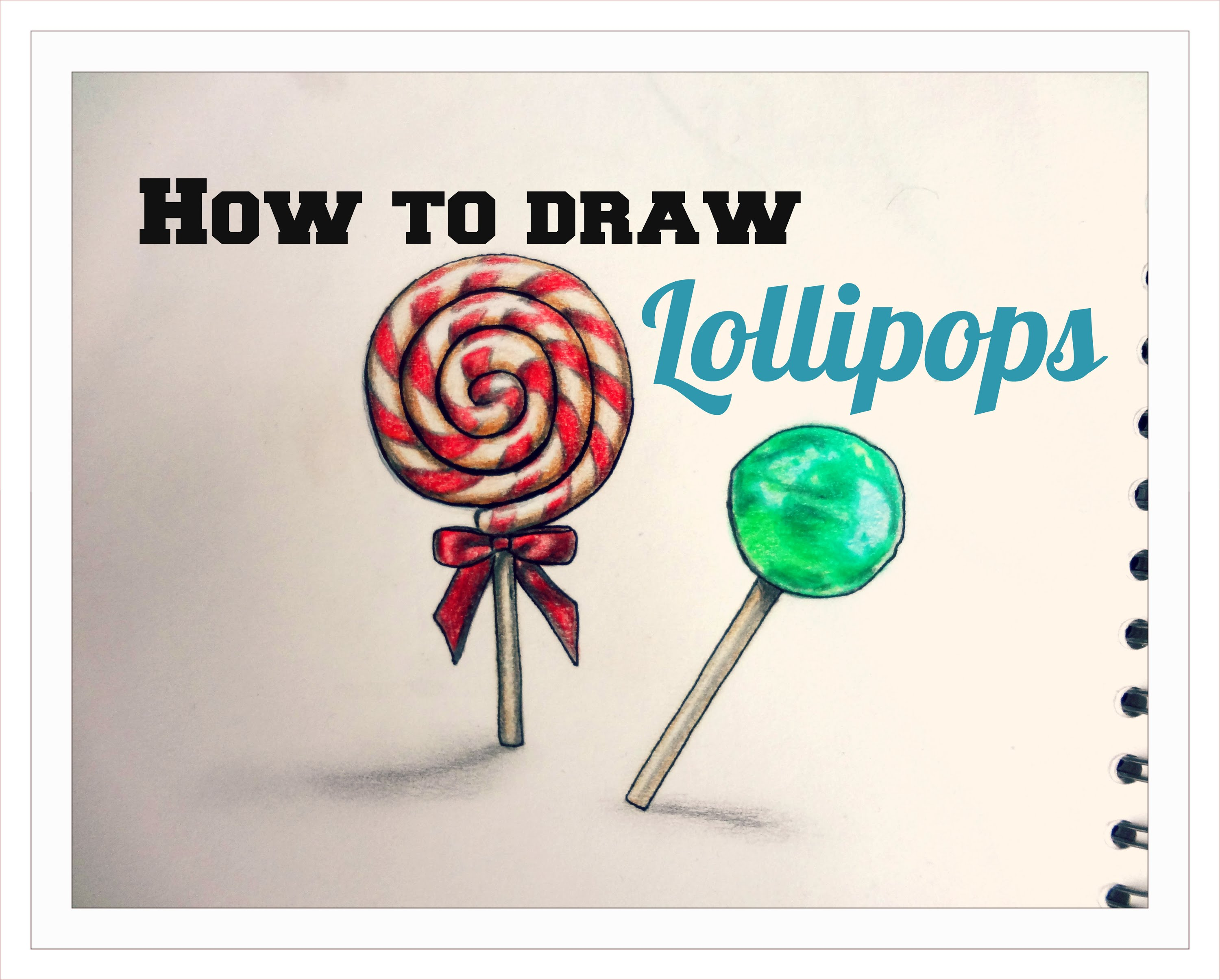 3000x2410 How To Draw Lollipop Part 1 With Pencils