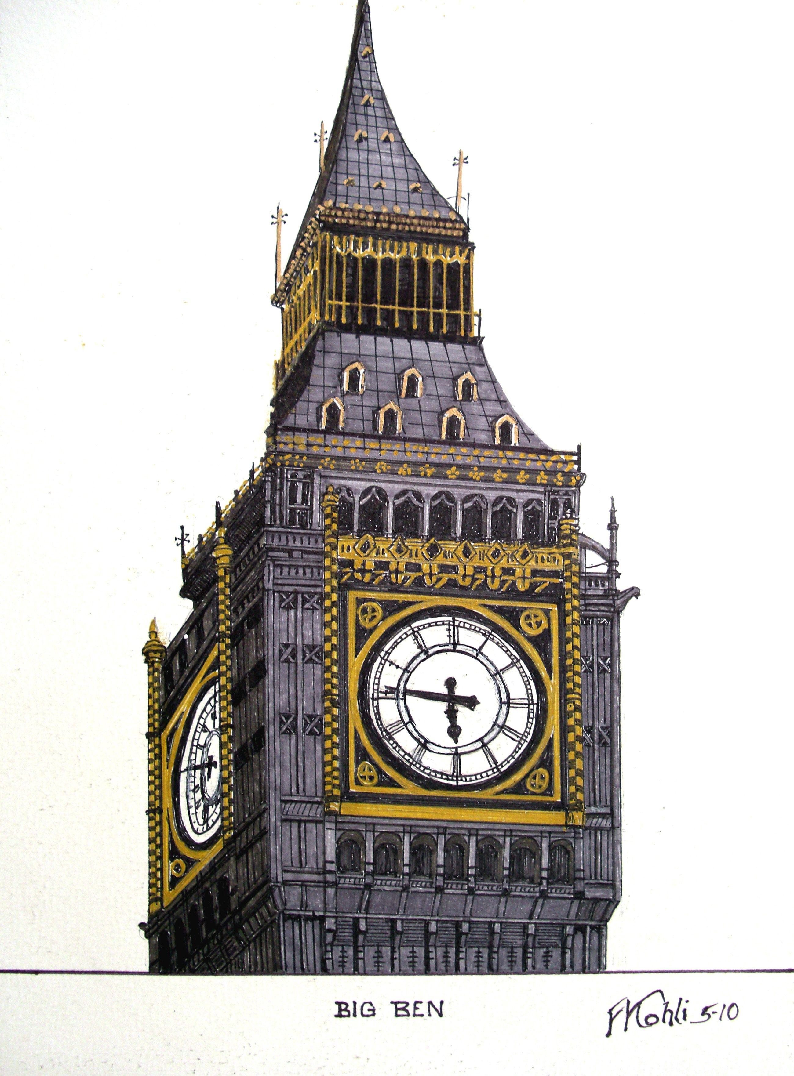 2600x3525 Big Ben