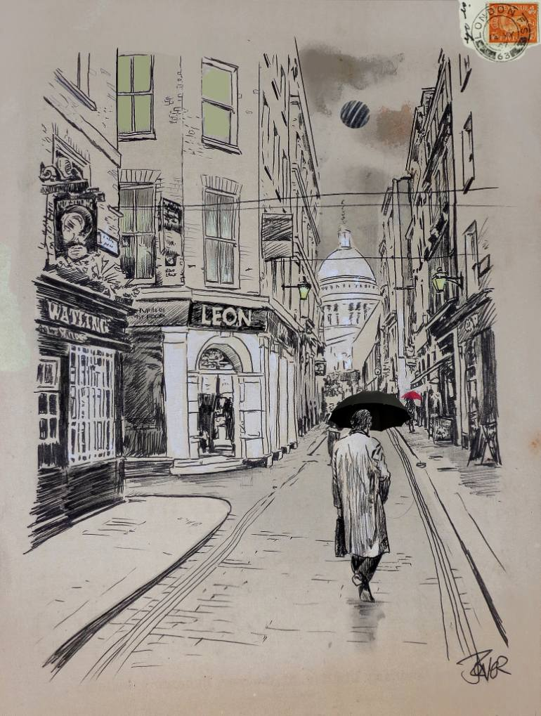 770x1019 Saatchi Art London Sketchbook Drawing By Loui Jover