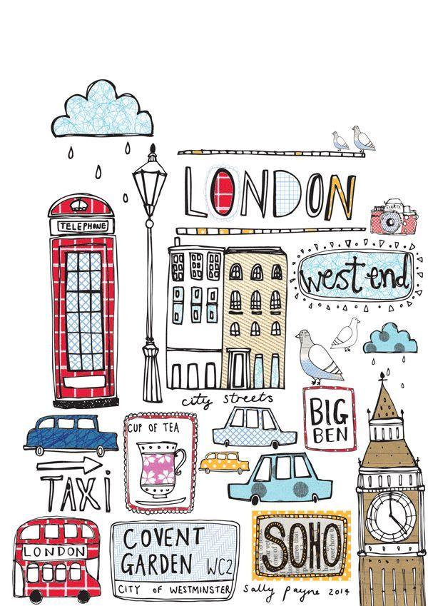 600x849 London Imprimibles De Colores