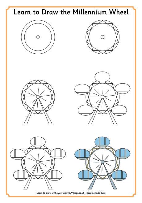460x658 To Draw The London Eye
