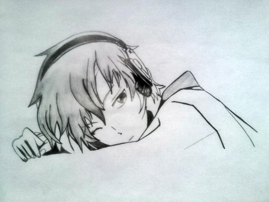 900x675 lonely anime boy by xinje on deviantart