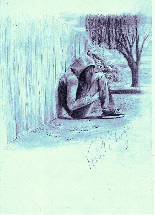 649x900 Drawing By Khaled Elbahja