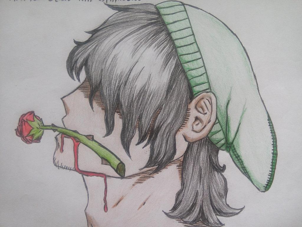 1024x768 Lonely Draw By Juliothezangetsu