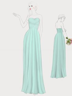 236x314 Design Your Own Wedding Dress} Gorgeous Customized Long Chiffon