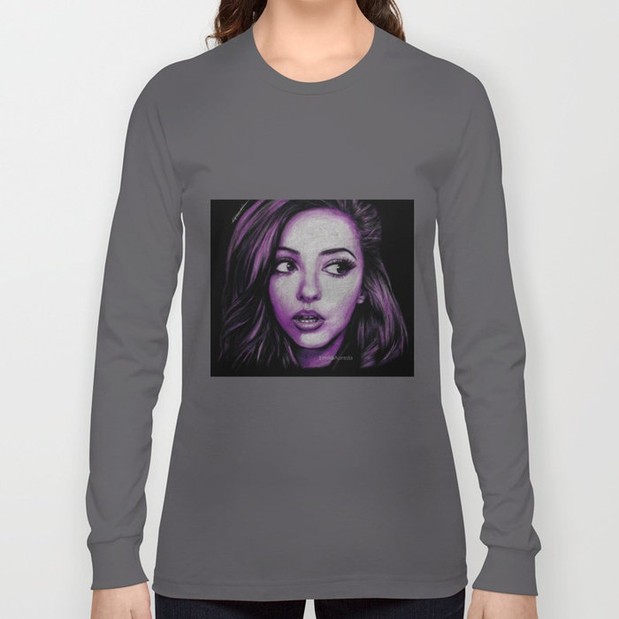 700x700 Jade Thirlwall Drawing Long Sleeve T Shirt By Emiliaapreda Society6
