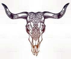 longhorn skull drawing at getdrawings com free for personal use rh getdrawings com longhorn skull tattoo meaning skull longhorn tattoo