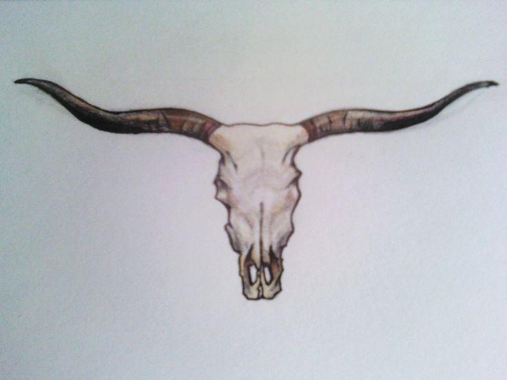 736x552 7 Best Longhorn Tattoo Images On Bull Skulls, Longhorn