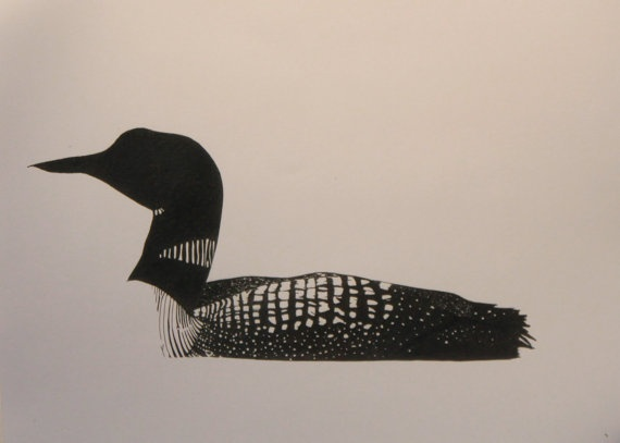 570x407 22 Best Loon Tattoos Images On Loon Tattoo, Design