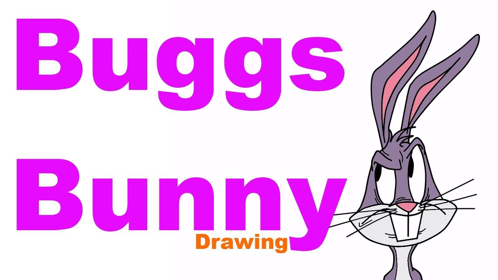 1600x900 Buggs Bunny Drawing