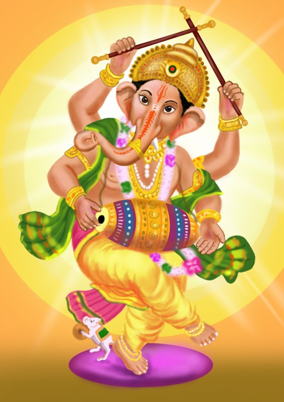 566x800 Learn How To Draw Lord Ganesha (Hinduism) Step By Step Drawing
