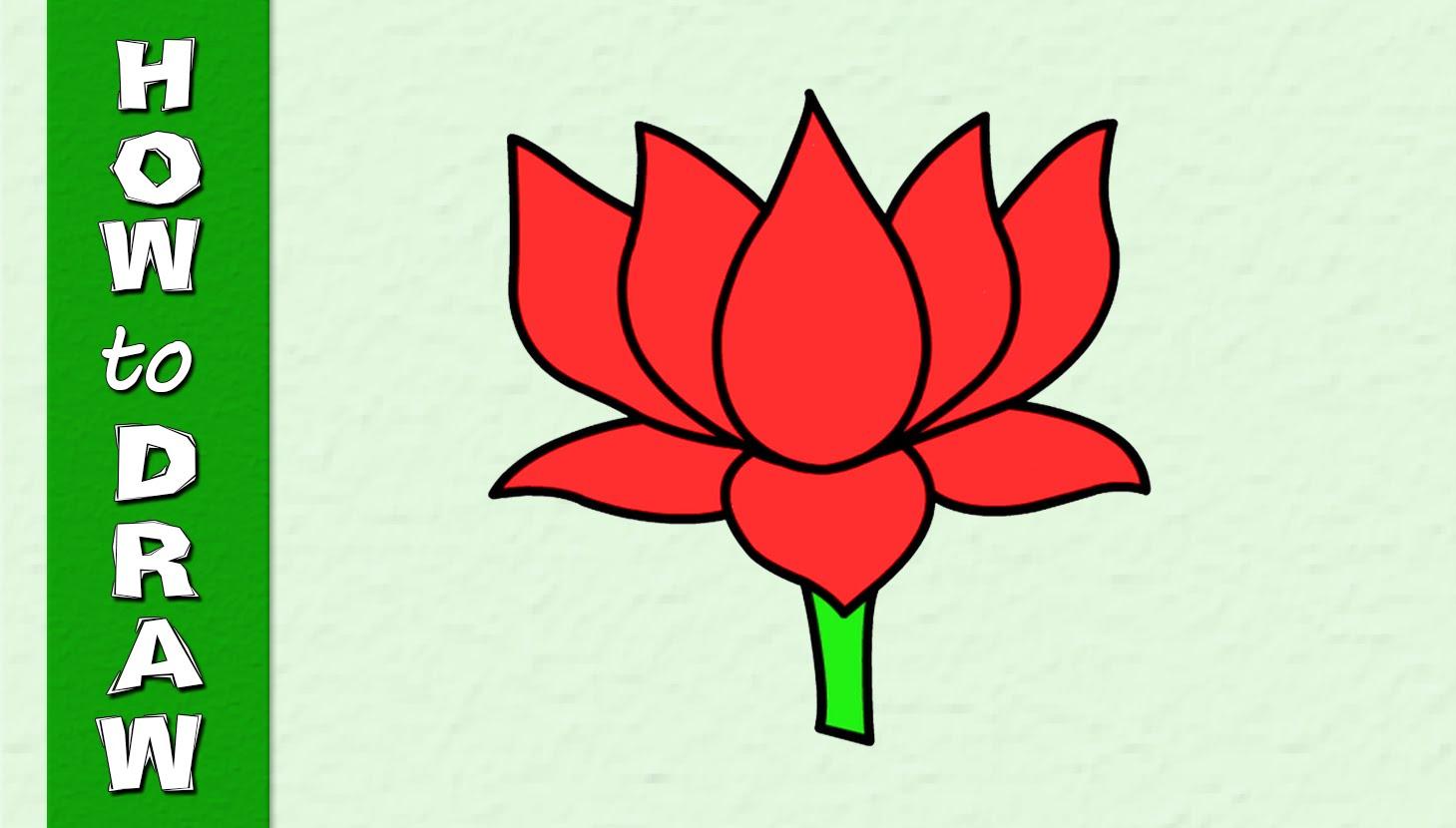 Lotus Drawing at GetDrawings.com | Free for personal use Lotus ...