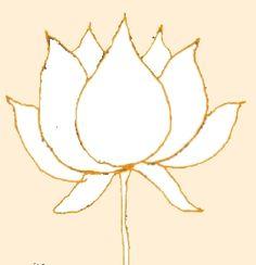 Lotus Flower Drawing Simple At Getdrawings Com Free For Personal