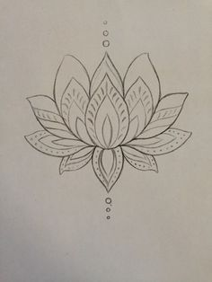Lotus flower drawing step by step at getdrawings free for 236x314 keep going flower and home on pinterest tattoo pinterest mightylinksfo