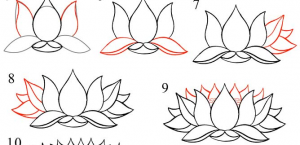How to draw a lotus flower easy step by step flowers healthy 300x145 pictures lotus flower drawing step by step lotus flower drawing step by step at getdrawings free for mightylinksfo