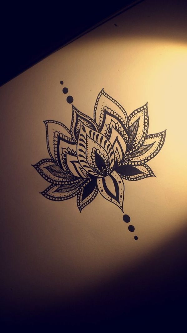 Lotus flower drawing tattoo at getdrawings free for personal 600x1066 lotus flower tattoo design by christian tattoo ideas pinterest mightylinksfo