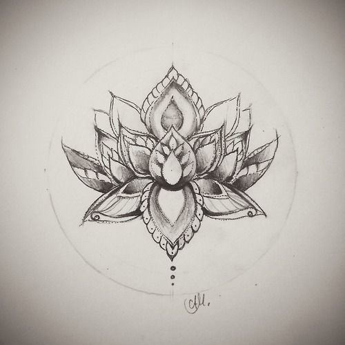 500x500 Lotus Tattoo Tumblr Tattoos ATM Pinterest