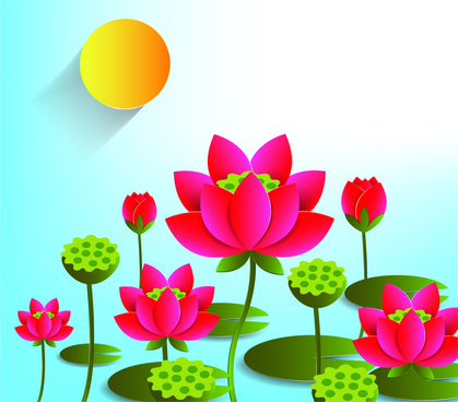 419x368 Lotus Flower Drawing Outline Free Vector Download (99,248 Free