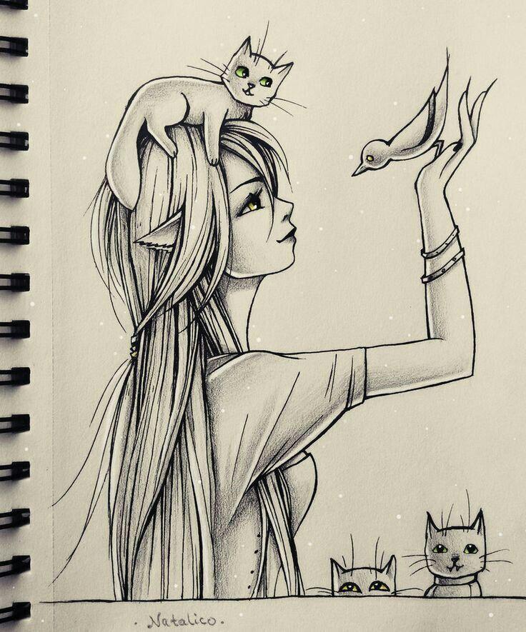 736x885 I Love Animals Lt3 Dibujos Animal, Drawings