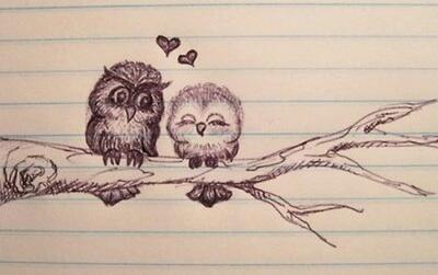 400x251 Animals, Art, Cute, Draw, Drawing