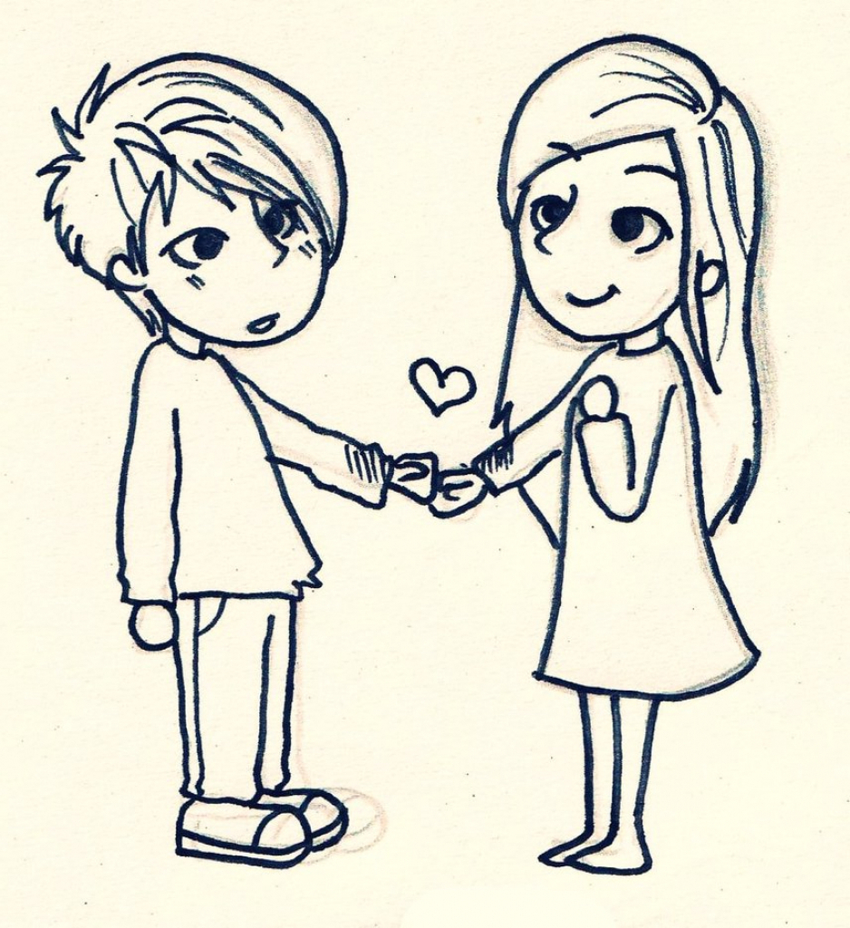 Love Cartoon Drawing at GetDrawings | Free download
