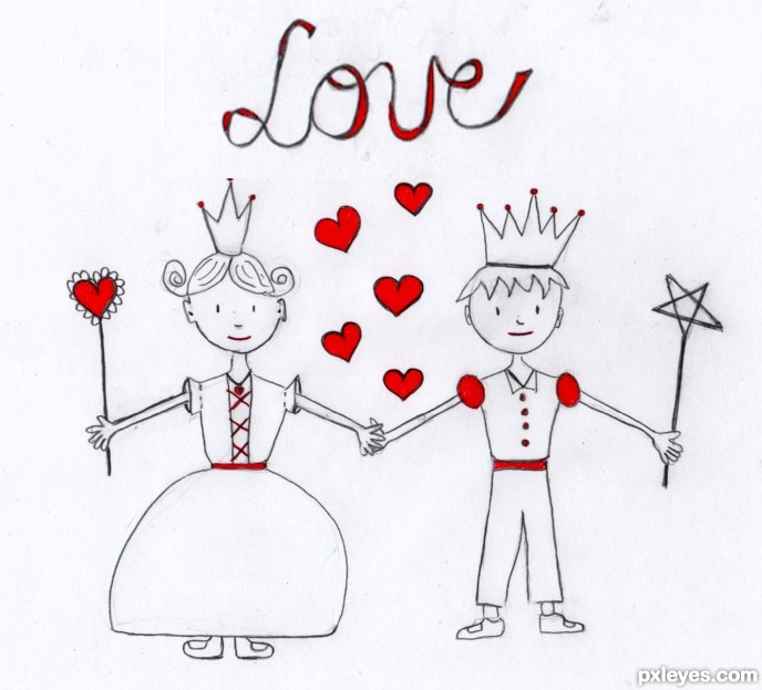 688x623 Drawing Contest Pictures Of Love