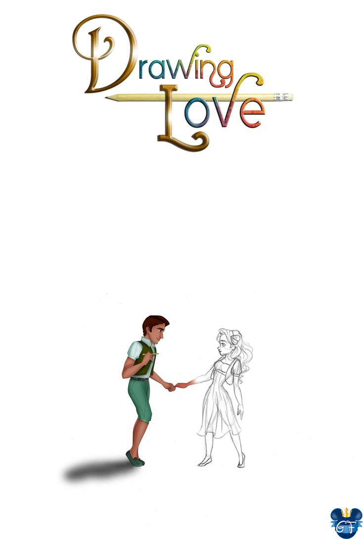 734x1088 Drawing Love Poster By Gf By Gfantasy92