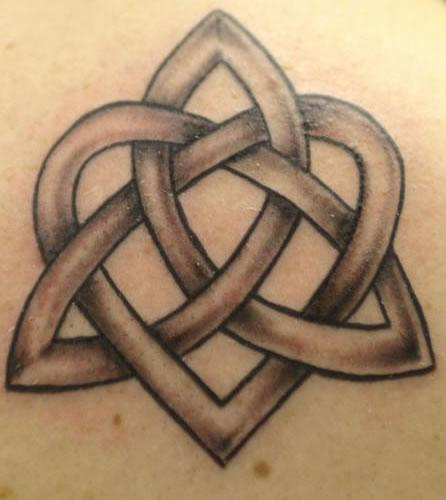 446x500 Celtic Love Knot Tattoos Symboler