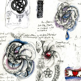 328x328 From The Sketchbook Of @sophie Harley, Who Designed The Gorgeous