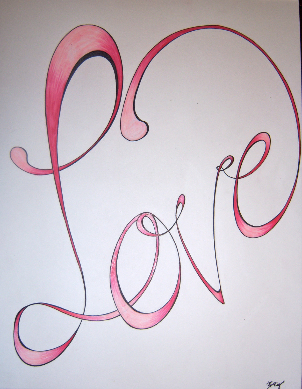 1166x1500 Pencil Drawings Of The Word Love Pencil Drawings Of The Word