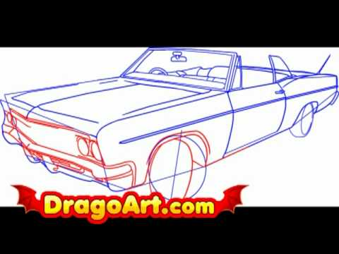 480x360 How To Draw A Lowrider Step By Step