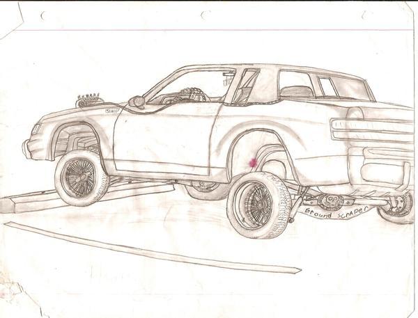 600x457 Oldsmobile Cutlass Lowrider By Jmielke