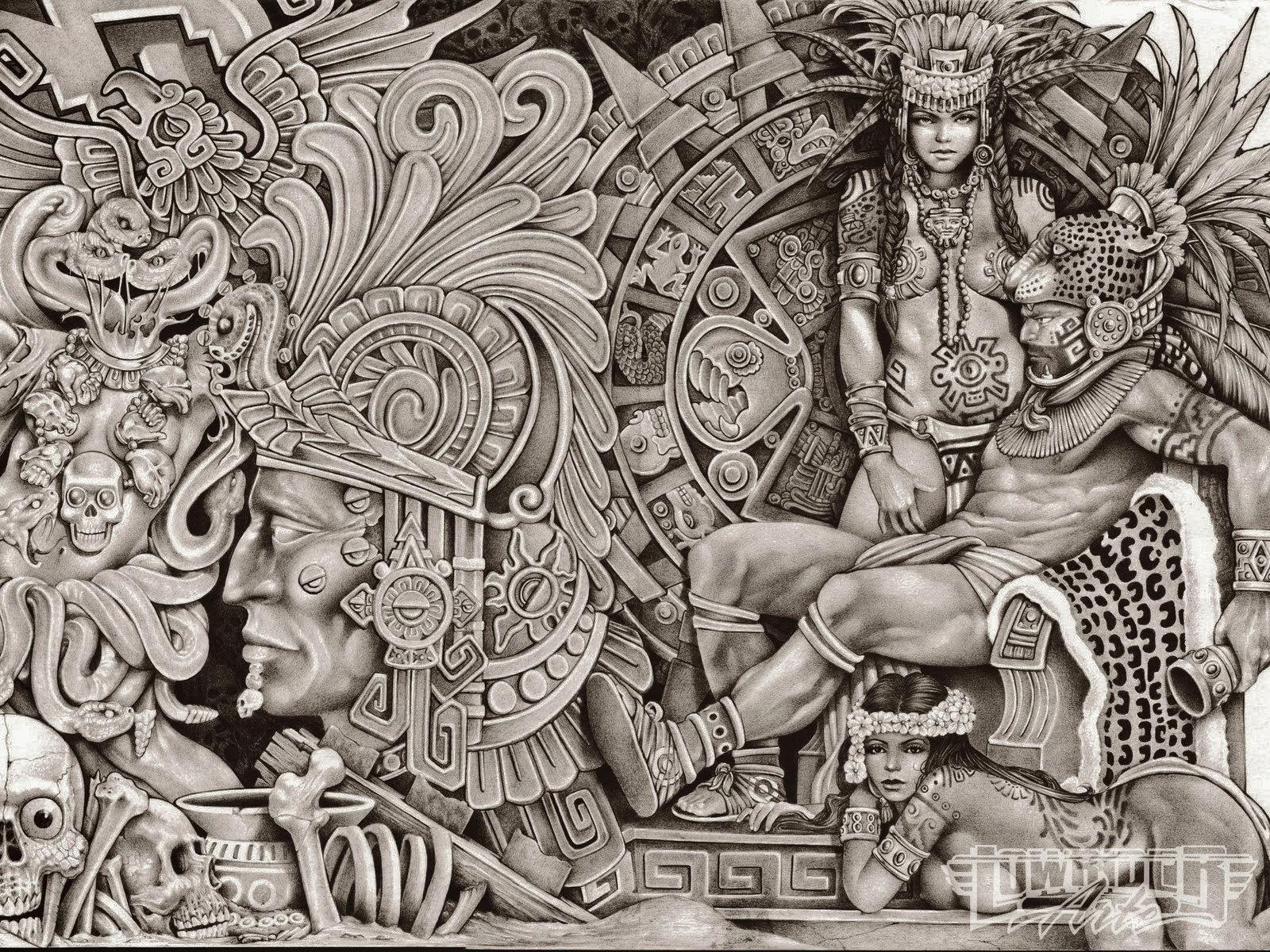 1600x1200 Lowrider Arte Aztec Drawings Pro Status Low Rider Art