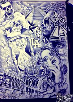236x329 Lowrider Arte Drawings Tatto Chicano Art Drawings Lowrider Arte