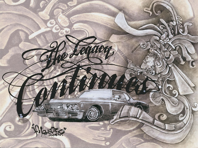 640x480 Lowrider Arte Drawings Photo Lowrider 4.png Chicano Art