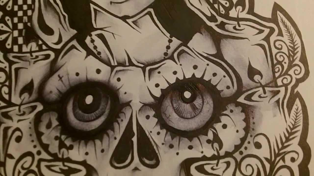 Tato Art Styles: Lowrider Arte Drawing At GetDrawings.com