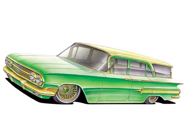 640x480 How To Draw A 1960 Chevy Impala