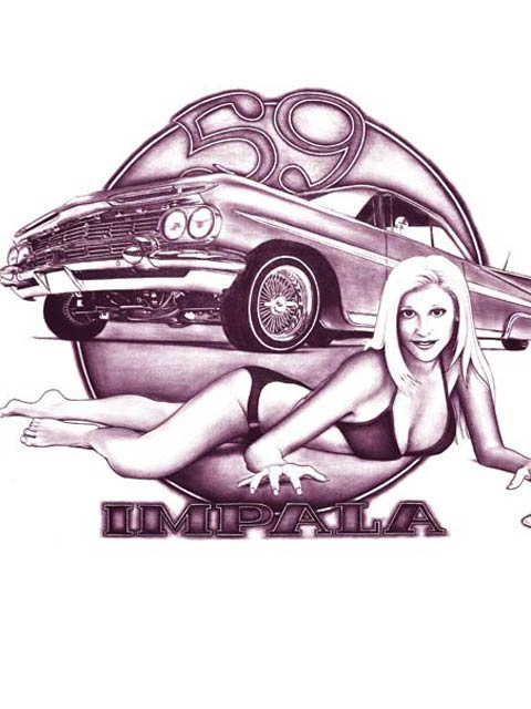 480x640 Lowrider Car Drawings And Paintings Lowrider Arte
